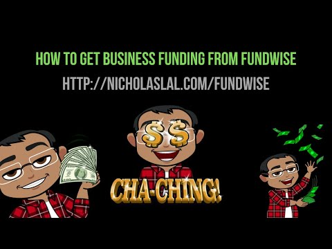 How To Get Business Funding Or Working Capital For Your Online Business From Fundwise