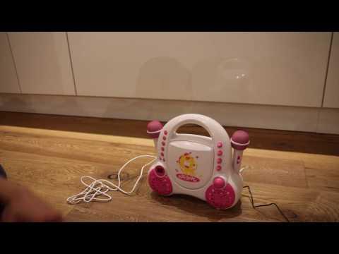 Kinder CD Player - auna Rockpocket Karaoke