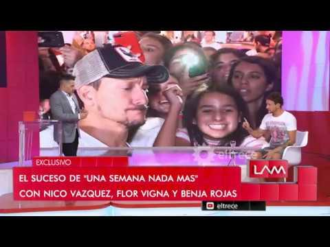 Nico Vázquez confesó que trató de mediar en el conflicto entre Flor Vigna y Nico Cabré