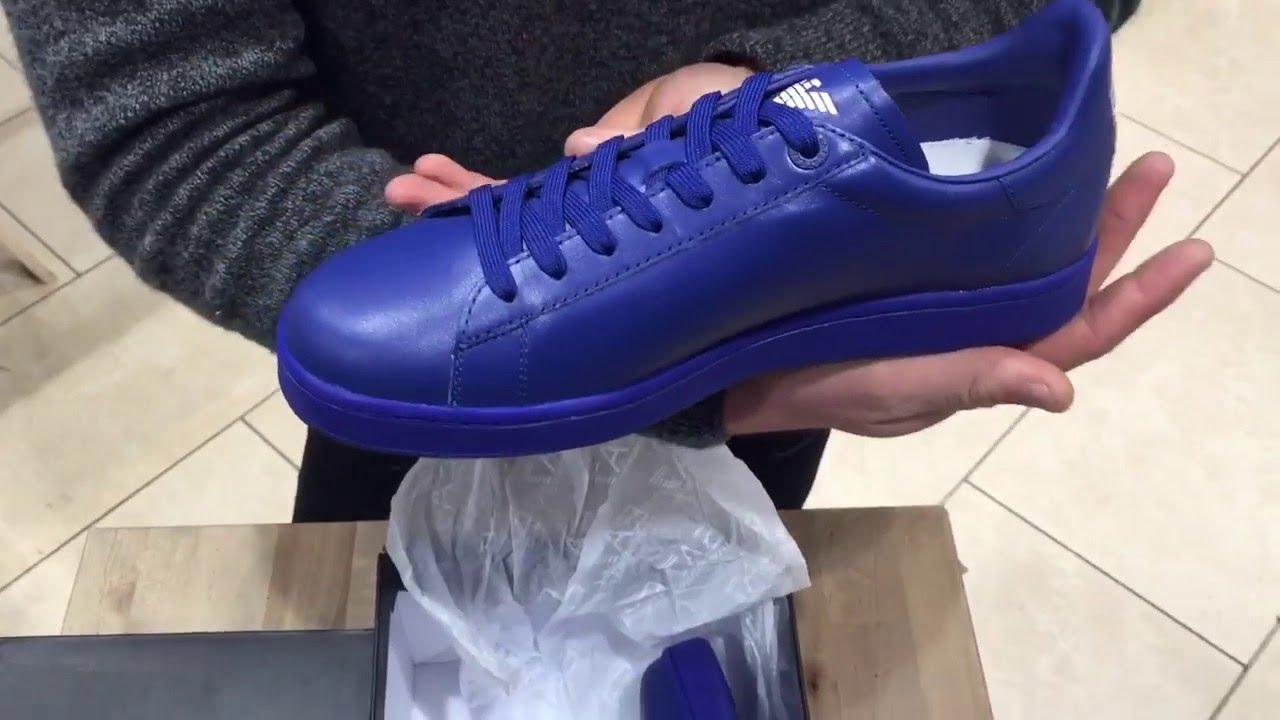 Emporio Armani Trainers - blue FxZGb2n