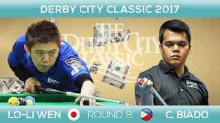 Lo LI-WEN - Carlo BIADO | Derby City Classic 9-BALL 2017