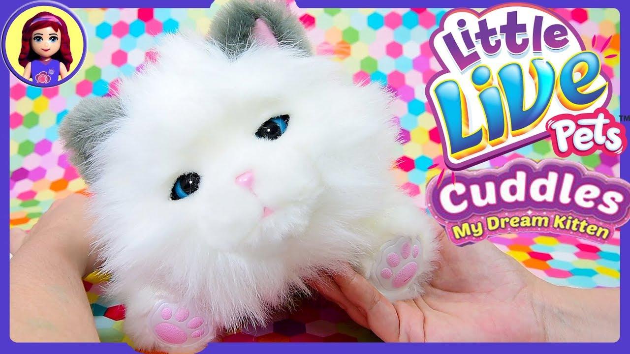 My Dream Kitten Cuddles Little Live <b>Pets</b> Review New <b>Pet</b> Adoption ...