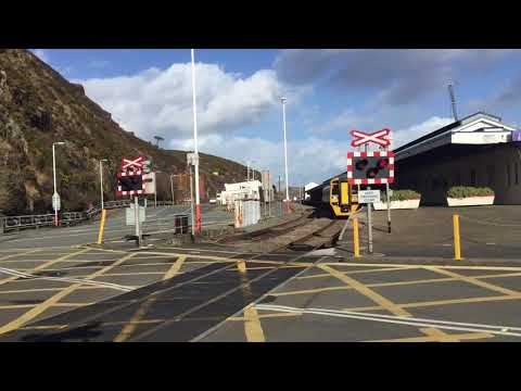 Fishguard Harbour Station Level Crossing (Pembs) Thursday 15.02.2018