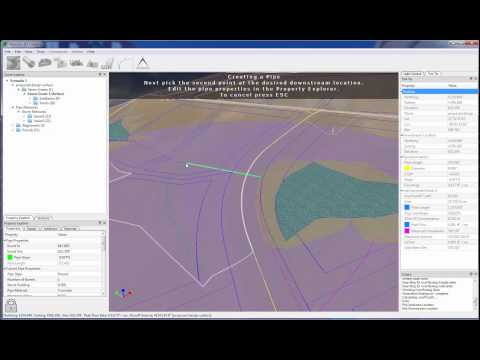 Carlson Precision 3D Culverts 2015 LandXML Import and Collision Detection