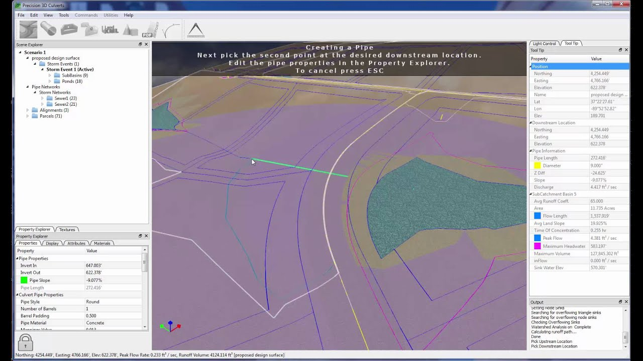 Carlson Software - P3D Culverts