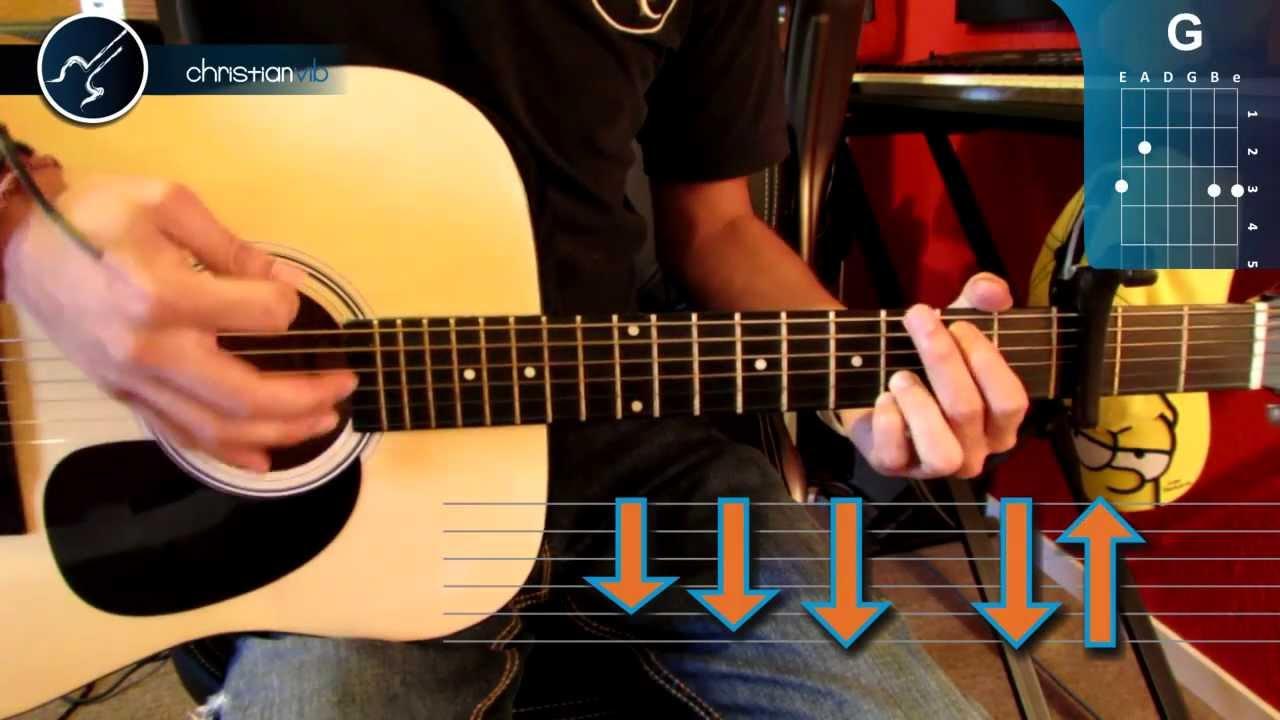 Cómo Tocar Frente A Frente De Enrique Bunbury En Guitarra Acústica Hd Christianvib Youtube