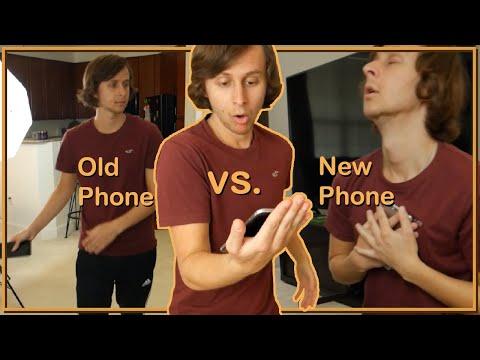 How people treat old vs new phones