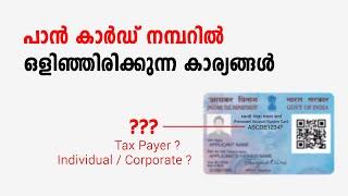 Secrets of PAN Card Number   Fintalks Malayalam