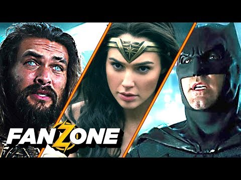 On a rencontré la Justice League (et vu le film) - FANZONE (Interview)