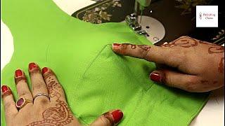 New model Convert Belt blouse into Double Katori blouse   Blouse designs बेल्ट ब्लाउज को दे नया लुक