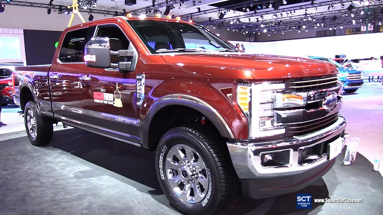 2017 Ford F 250 King Ranch Super Duty Exterior And Interior Walkaround 2016 La Auto Show