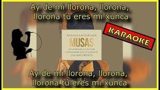 La Llorona - Natalia Lafourcade (KARAOKE/LETRA)