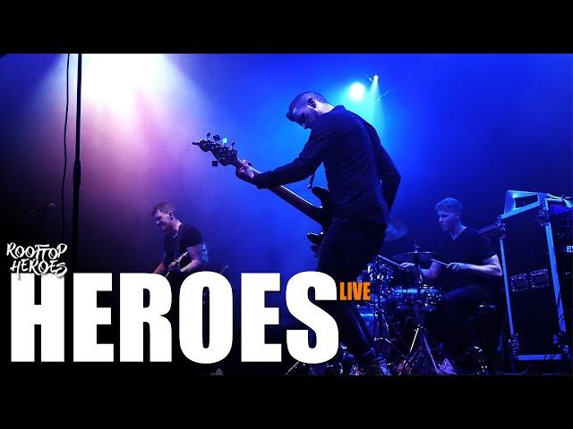 Rooftop Heroes - HEROES (Live)