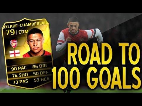 Alex Oxlade Chamberlain Inform Road 2 100 Goals