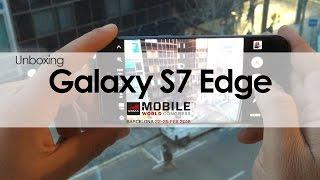 Samsung Galaxy S7 Edge: Unboxing