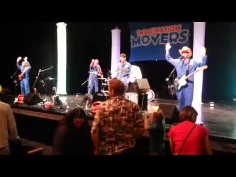 Imagination Movers - Live Concert -  Licensed To Move - Cedarburg, WI - August 21st, 2015