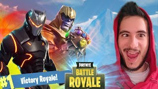HO BATTUTO & VINTO CON THANOS! ⛏️ Fortnite Battle Royale Avengers - Pazzox