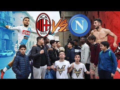 Milan VS Napoli - BOTTA E RISPOSTA Tra Tifosi ● MILANISTA vs NAPOLETANO, JUVENTINO e INTERISTA