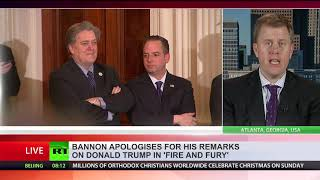 Bannon apologies for his remarks on Trump in 'Fire and Fury'