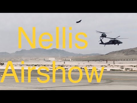 Nellis AFB Air Show Vlog | Aviation Nation 2017
