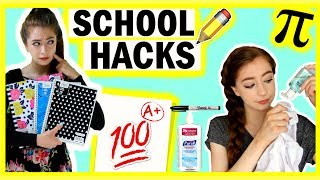 25+ NEW Back To School LIFE HACKS | Life Hacks For School EVERYONE should know!