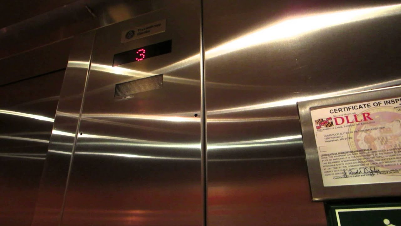 ThyssenKrupp Hydraulic Elevator at Homewood Suites - Hagerstown, MD ...