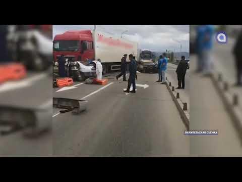 День ДТП. В Улан-Удэ в крупной аварии погиб водитель «Ниссана»