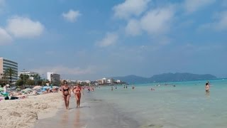 Mallorca 2016 - Am Strand von Cala Millor