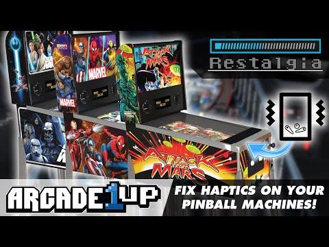 This FREE Mod Fixes Haptics on Arcade1UP Pinball Machines from Restalgia
