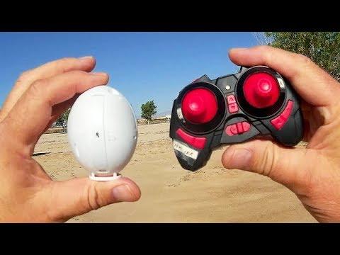 Kaideng K130 The Flying Egg FPV Drone Flight Test Review