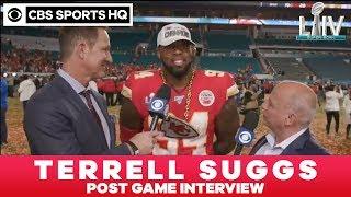 Terrell Suggs post game interview | Super Bowl LIV | CBS Sports HQ