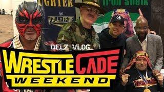 Wrestlecade 2019 Great Muta,Iron Shiek,Cryme Tyme,Enzo Amore,The Dudleys,Taya Valkyrie ,Rosemary...