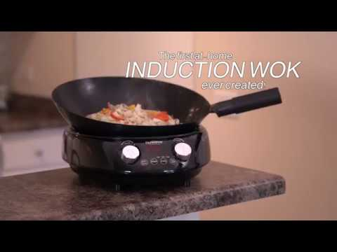 NuWave Mosaic Induction Wok - How It Works
