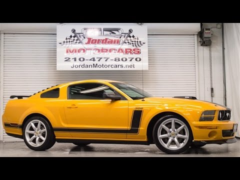 2007 Ford Mustang Saleen Parnelli Jones Limited Edition Youtube