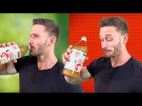 Try Apple Cider Vinegar Before a Workout