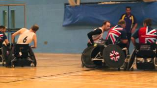 Jaguar Land Rover at the Invictus Games Wheelchair Rugby Trials.