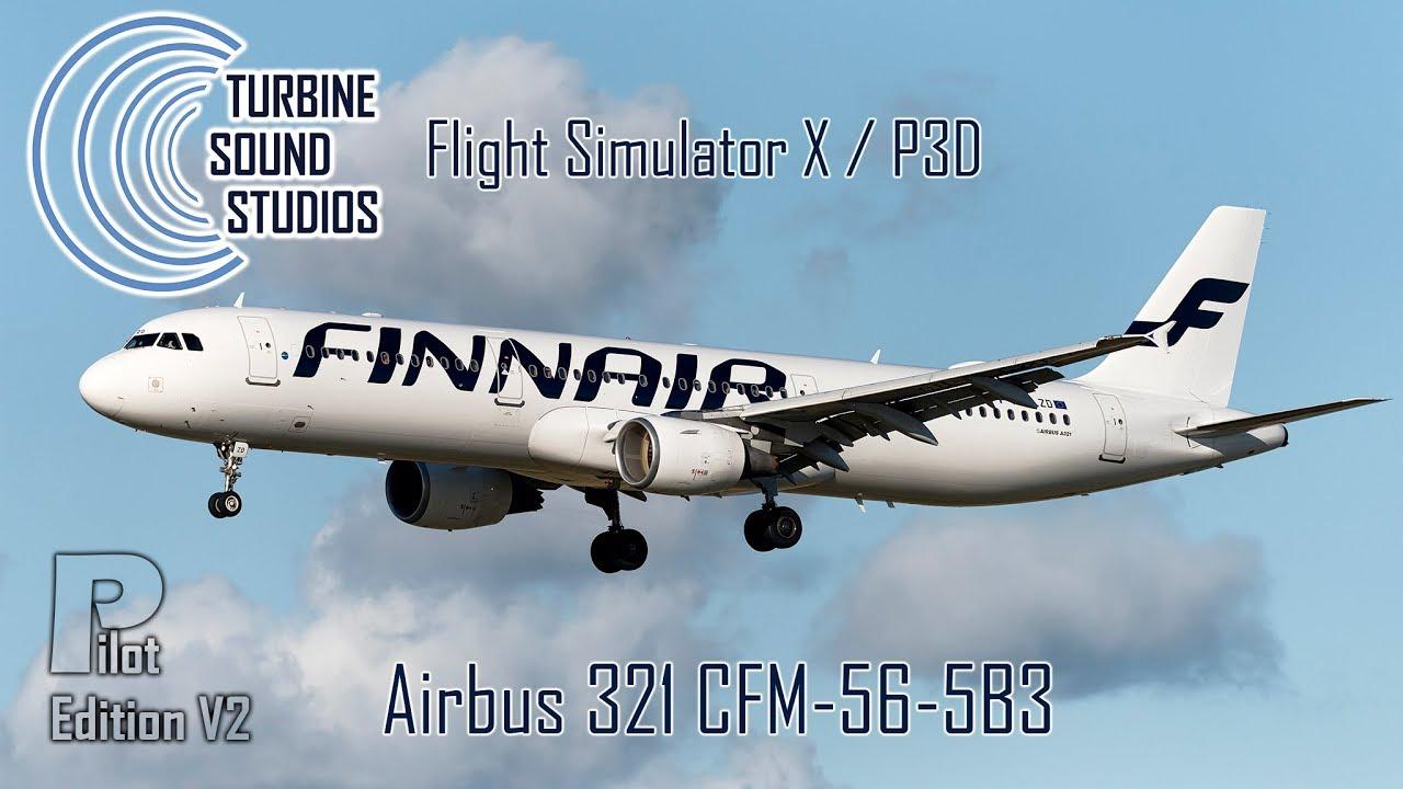 simMarket: TURBINE SOUND STUDIOS - AIRBUS 321 CFM56-5B3 PILOT