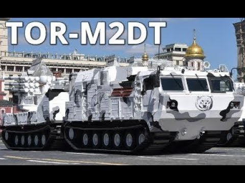 Russia Tests Tor-M2DT Arctic Air Defence System