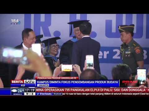 Jokowi: Kita Harus Fokus Garap Produk Unggulan Alam Kita