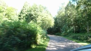 Leaving Clumber Park, Worksop,