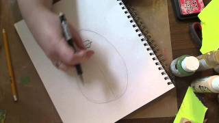 DRAWING THE GOTH GIRL-STEP ONE