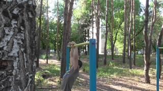 Street Workout Воронеж ( силовые элементы на турнике )(Наше первое видео ,,,, 2014-08-18T13:17:12.000Z)