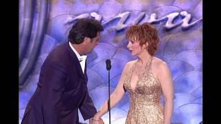Vince Gill & Reba Talk Dresses - 2003 ACM Awards