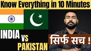 India vs Pakistan | Complete Country Comparison | Army | Health | Education | Episode 1