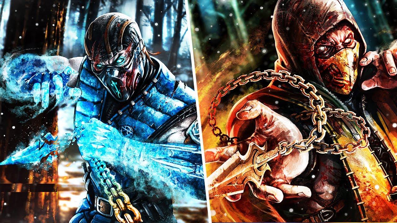 Épicas Batallas de Rap del Frikismo Scorpión vs Sub-Zero ...