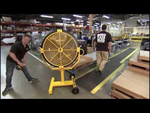 Промышленные вентиляторы (Как это работает)