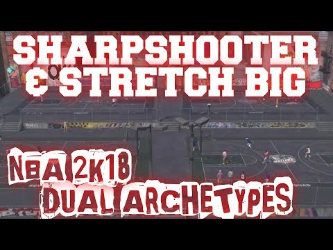 Sharpshooter & Stretch Big 2K18 Archetype Theory - OP NBA 2K18 MyPlayer Builds