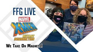 Evan is joined by the creative team; molly, deborah, and brandon as they sit down take on magneto in x-men mutant insurrection! -- watch live at https://...