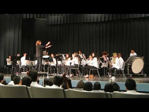 2019 Hercules Middle School Band - Music at the Park