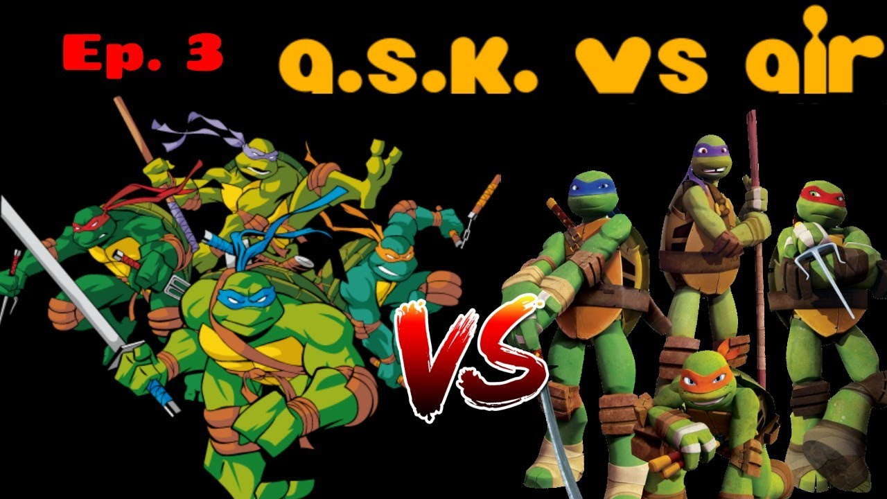 Tmnt 2003 Vs 2012 Which Reboot Is Better Ask Vs Air Ep 3